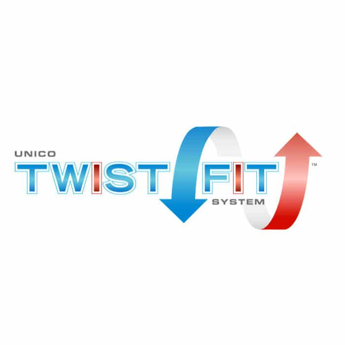 Unico TwistFit Logo Square