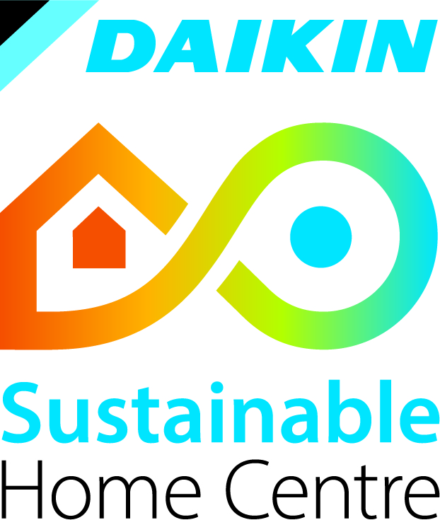 Daikin Logo Sustainable Home Centre - Vertical